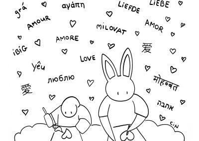 Bunny Daze Sketches