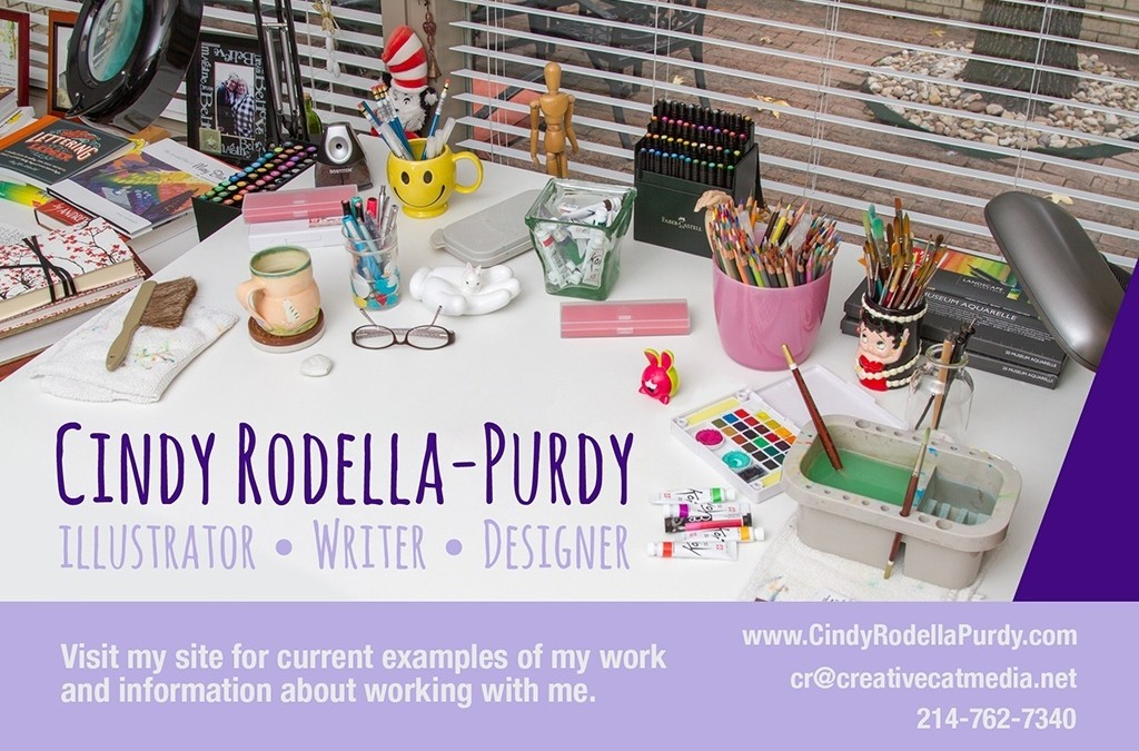 Cindy has launched a NEW illustration site!